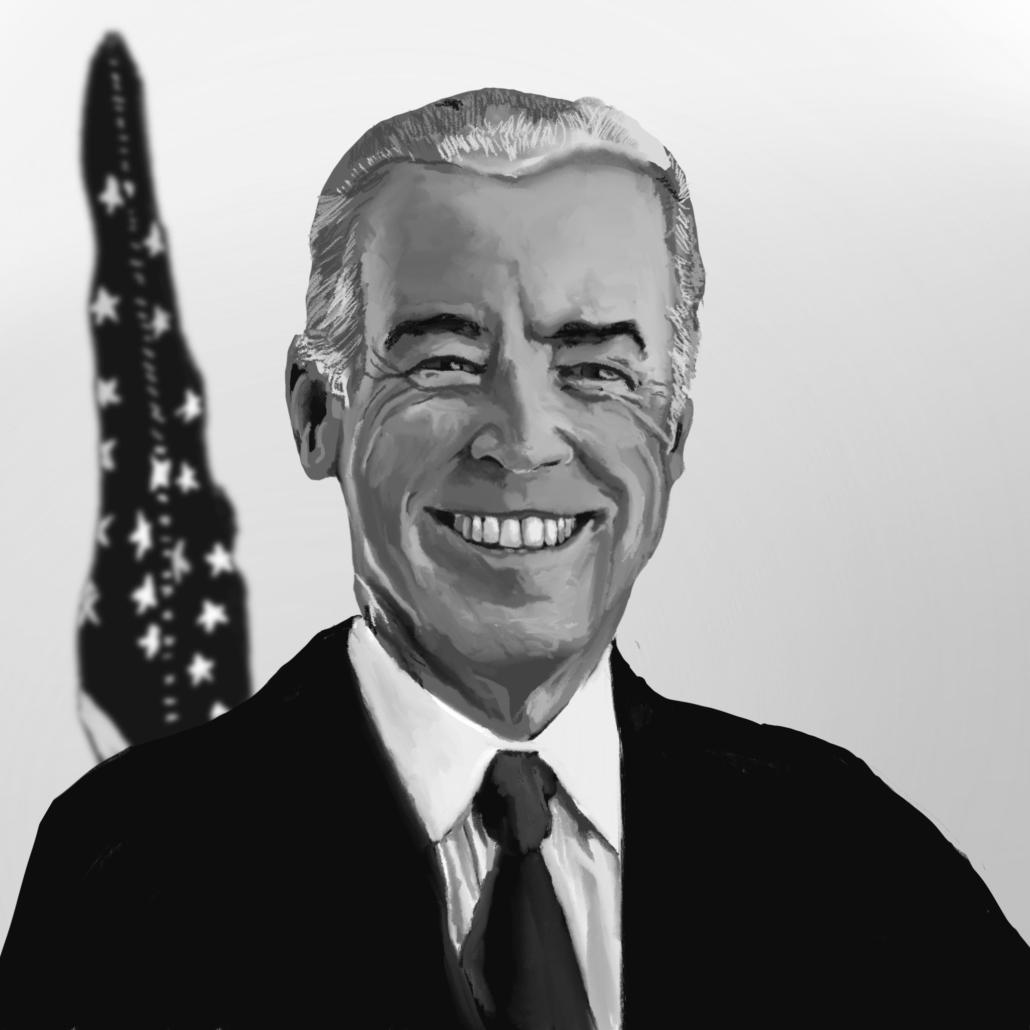 President Joe Biden Portrait